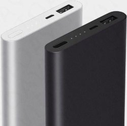 Внешний аккумулятор xiaomi powerbank 2 2USB 10000mAh silver/black