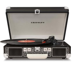 Проигрыватель CROSLEY CR8005D-CB CRUISER DELUXE Tweed c Bluetooth Черный